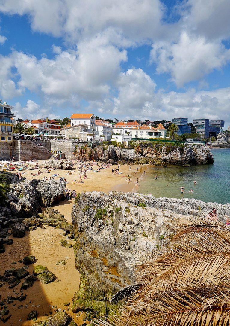 Cascais plage Portugal