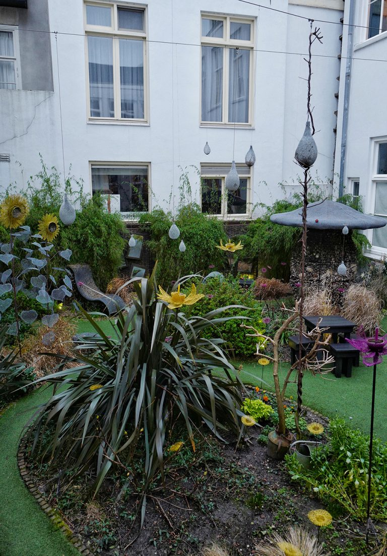 Droog garden Amsterdam