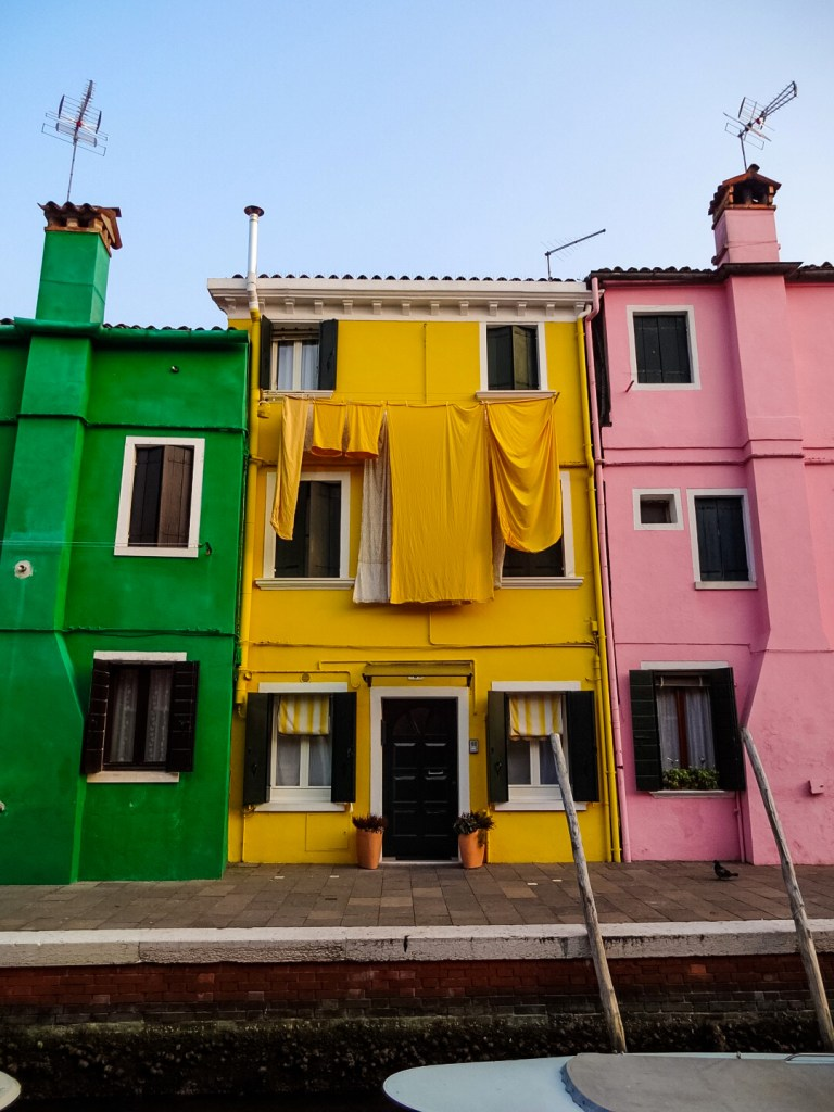 Burano colorful house Venice