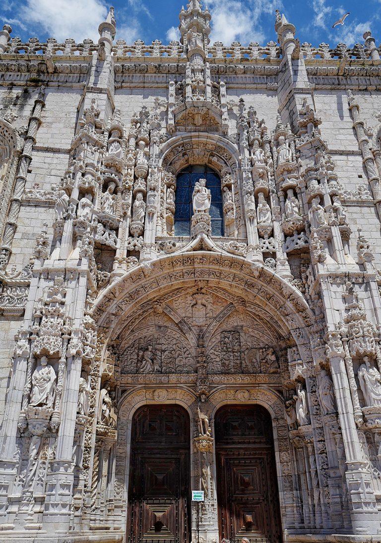 Portal of Monastery of the Hieronymites Lisbon