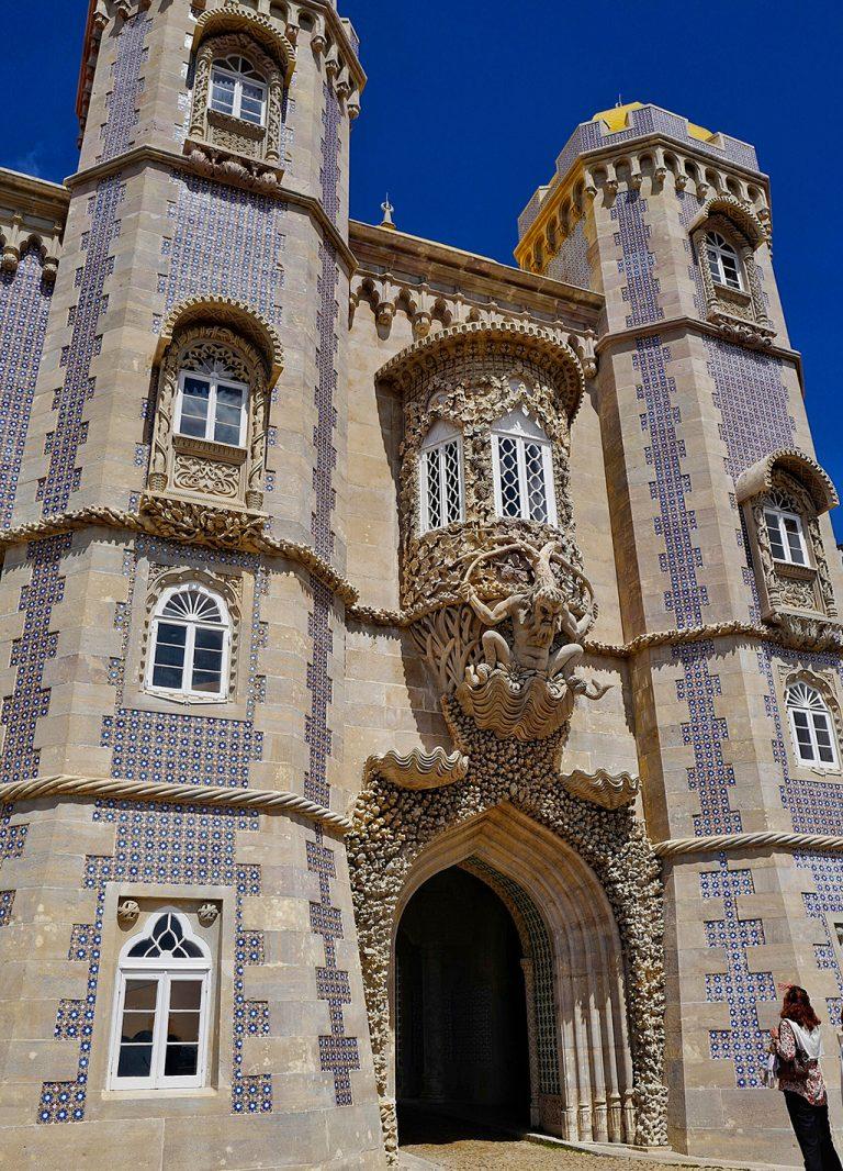 Triton face Pena Palace Portugal