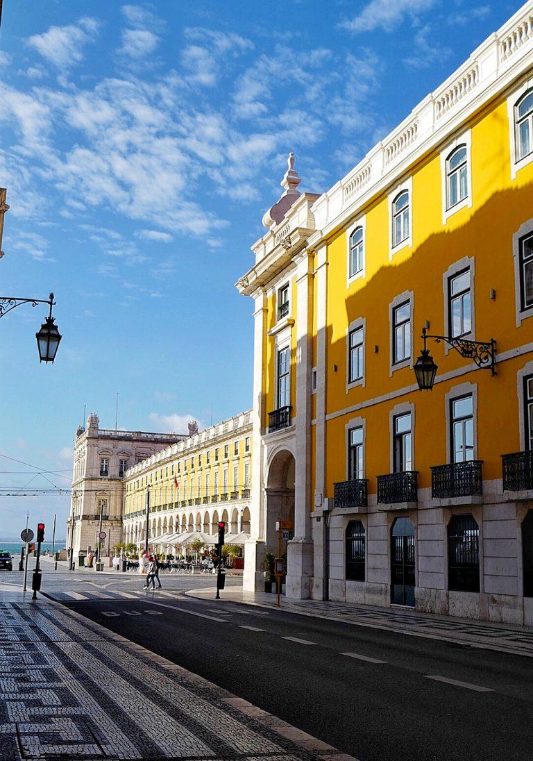 Pousada de Lisboa, à l'angle de Praça de Comércio