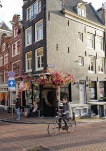 Prinsengracht street Amsterdam