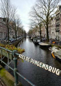 Canal Kees de Jongenbrug Amsterdam