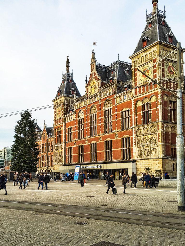 Gare d'Amsterdam central