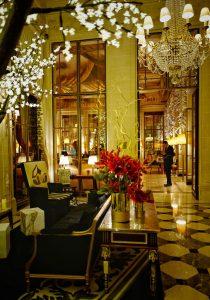 The Meurice Hotel lobby Paris