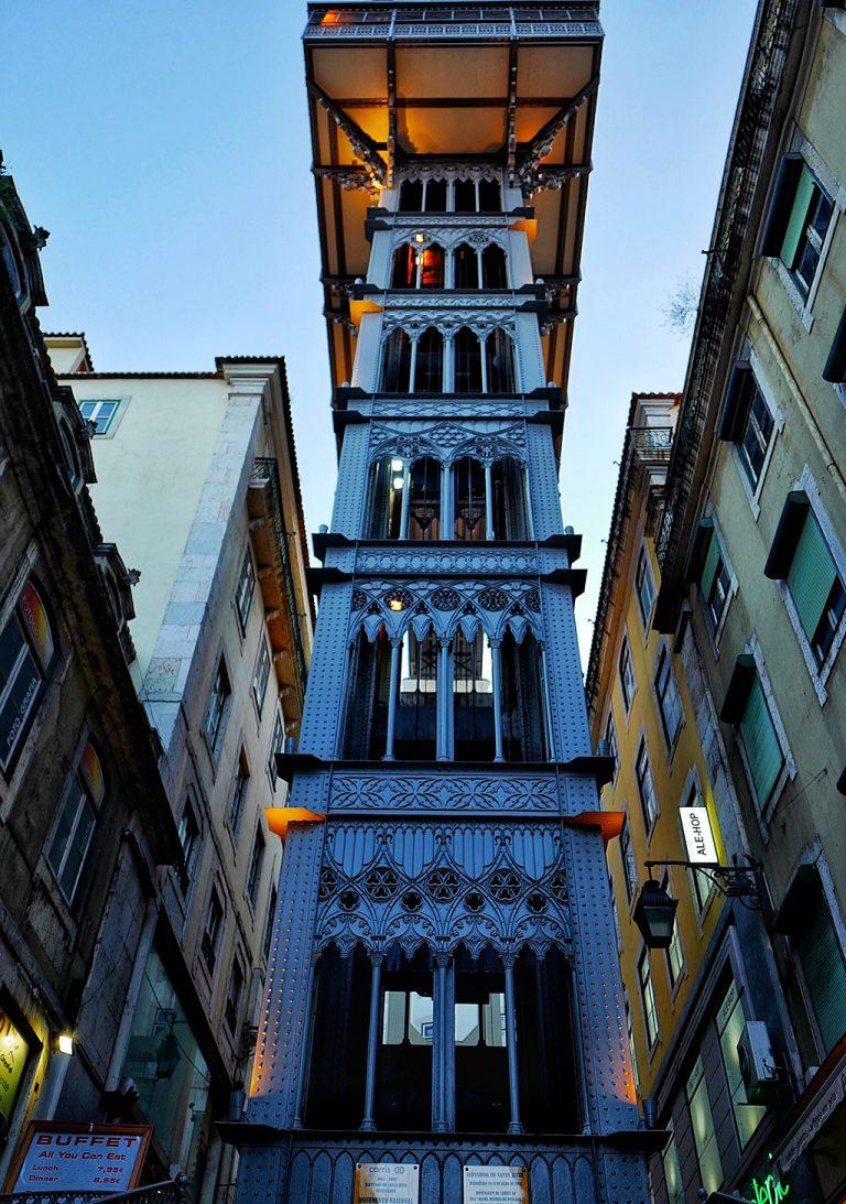 Elevator Santa Justa Lisbon