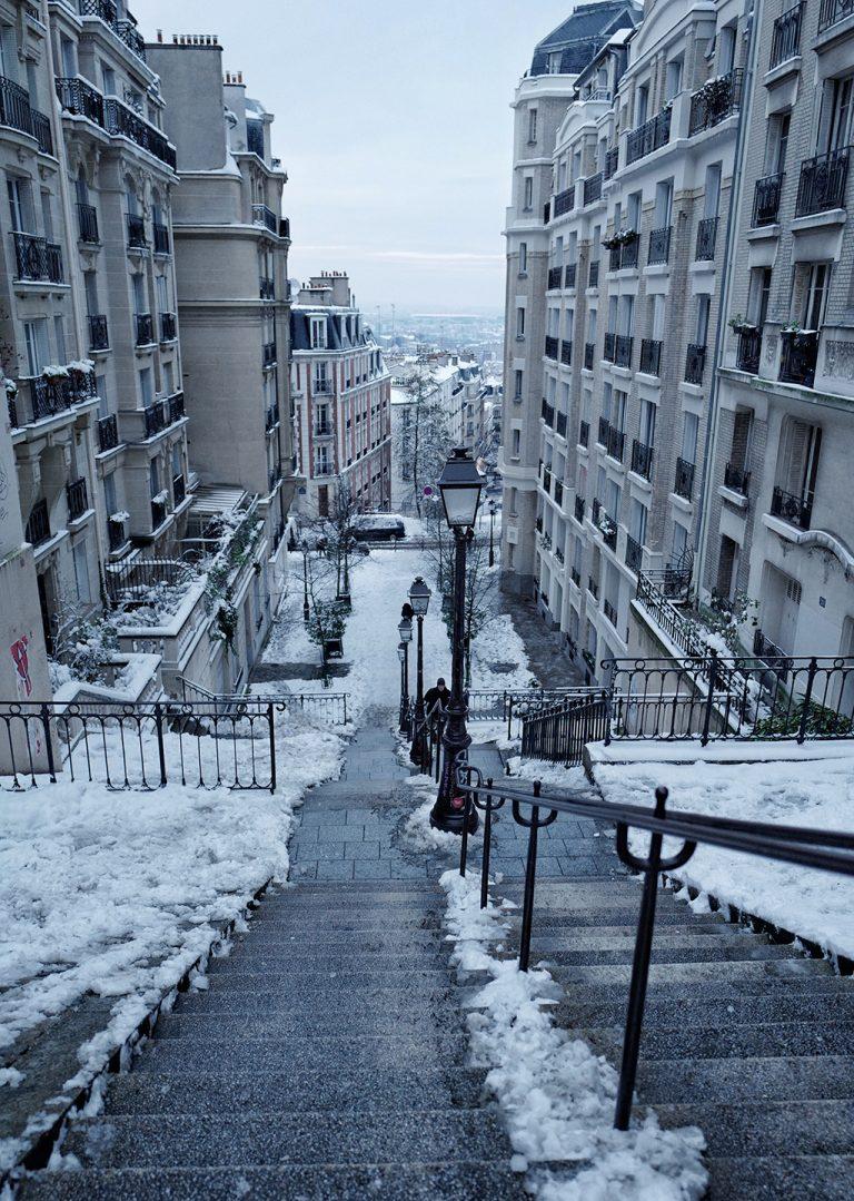 Montmartre steps Paris