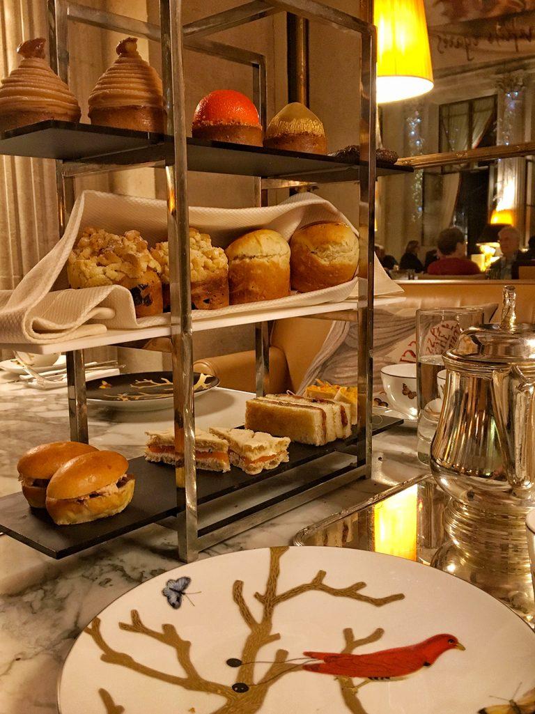 Plateau Tea Time Le Meurice Paris