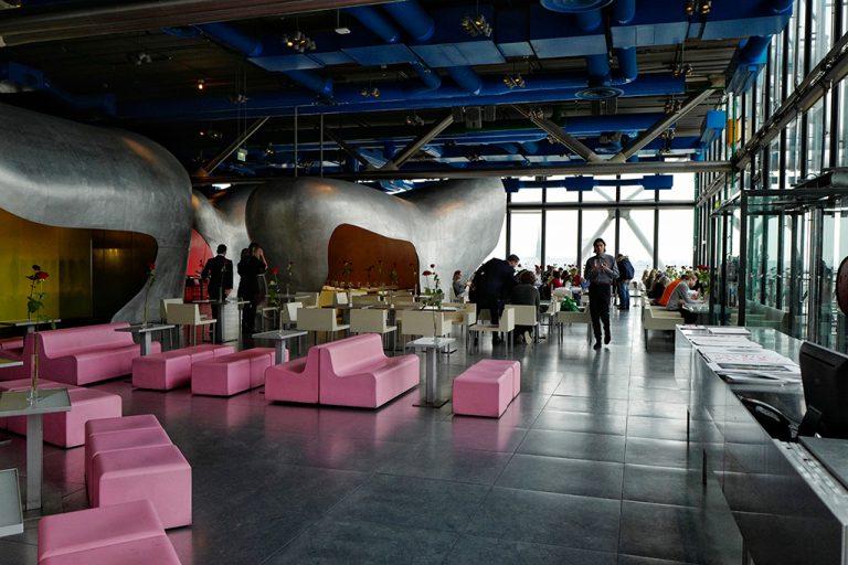 Georges restaurant at Pompidou Center Paris
