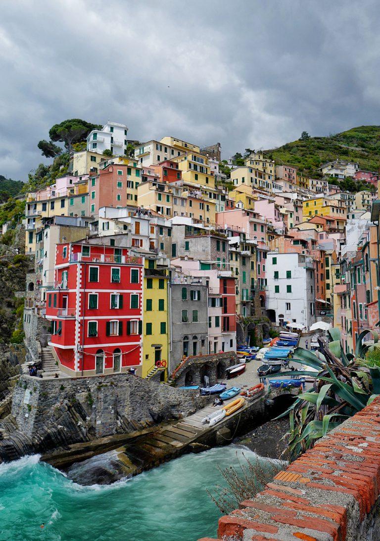 Riomaggiore five lands Liguria Italy