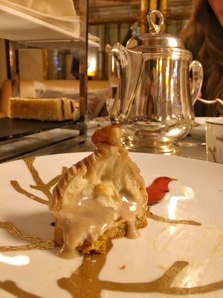 Tartelette aux marrons Mont Blanc de Cédric Grolet Le Meurice
