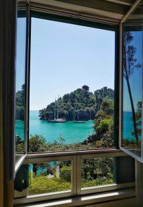 Vue de l'hôtel Piccolo Portofino
