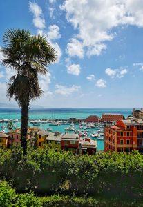 View on Santa Margherita port