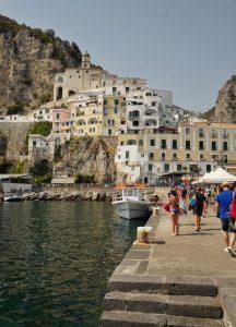 Amalfi village, Campanie, Italie