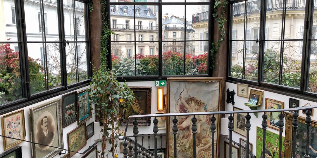 Vue du restaurant Pink Mamma Paris 9