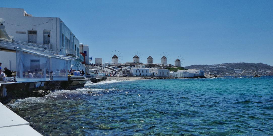 Les quatre moulins de Mykonos Grèce