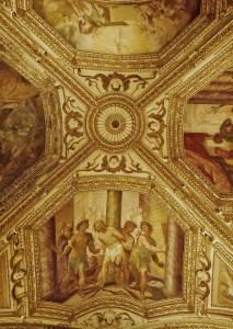 Plafond de la crypte de l'église San Andrea Amalfi