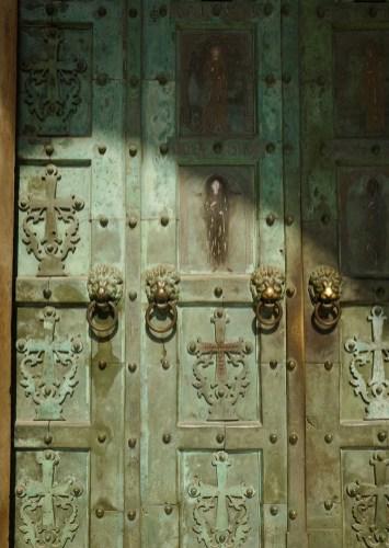 Porte en bronze de l'église San Andrea Amalfi