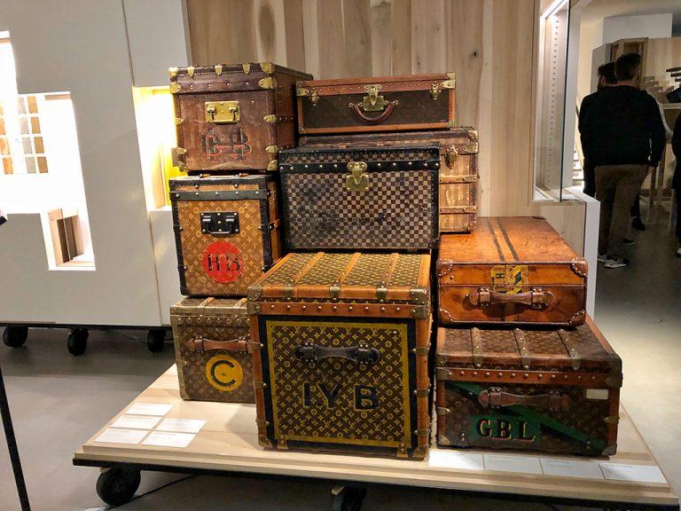 Malles anciennes Louis Vuitton