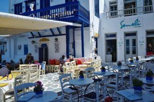 Semeli Bar Mykonos Greece