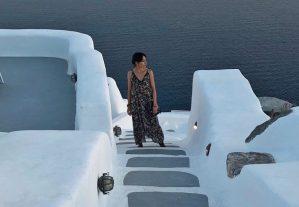 Portrait Oia, Thira, Greece
