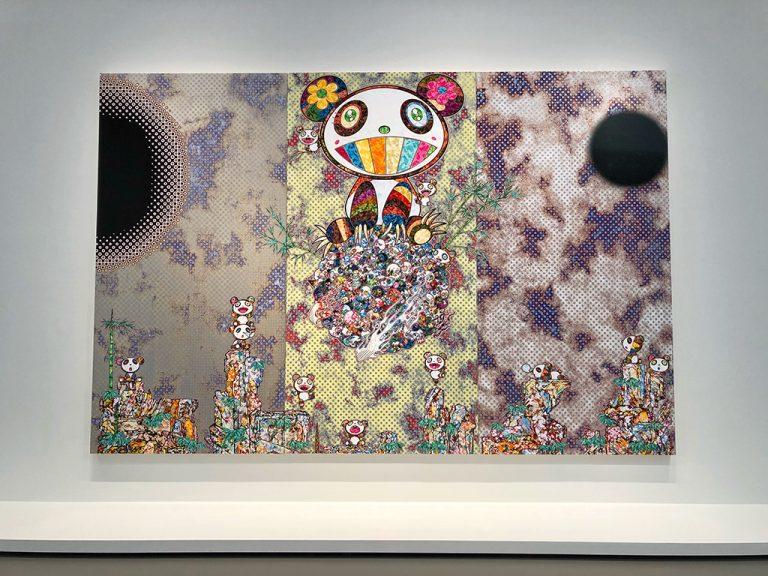 Forest Companions de Takashi Murakami