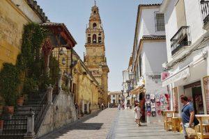 The minaret in Cordoba