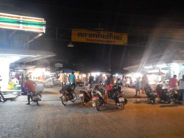 Food court à Koh Phangan