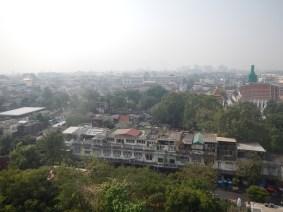 Bangkok vu de la montagne d'or