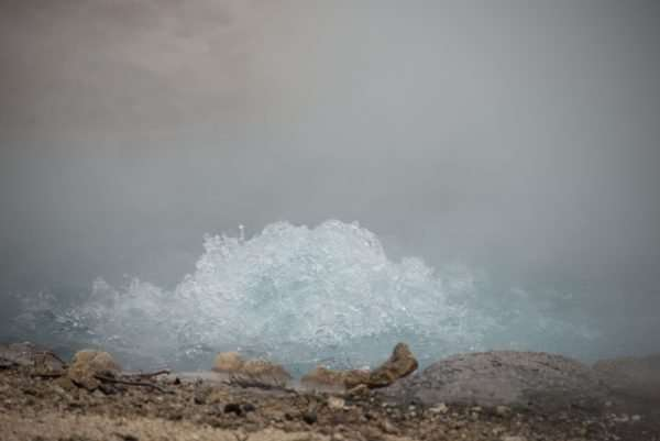 Yellowstone Spring Bubbling