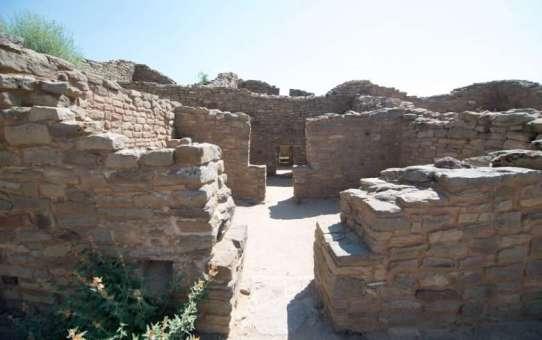 アズテック遺跡国定公園で復元Kiva体験