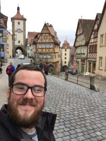 A little selfie in Rothenburg