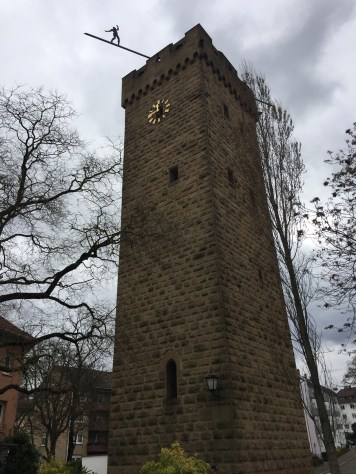 The tower by the canal