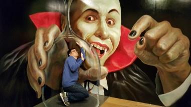 Trick art theater!