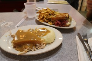 Thanksgiving in sandwich form + Reuben
