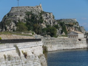 old fortress capital of Corfu