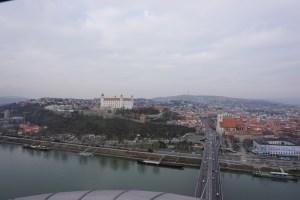 view SNP Bridge Bratislava
