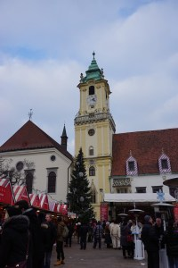 town hall highlights in Bratislava