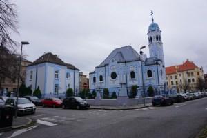 Blue Church of Bratislava