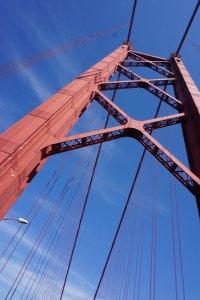 Walk across the Ponte 25 de Abril