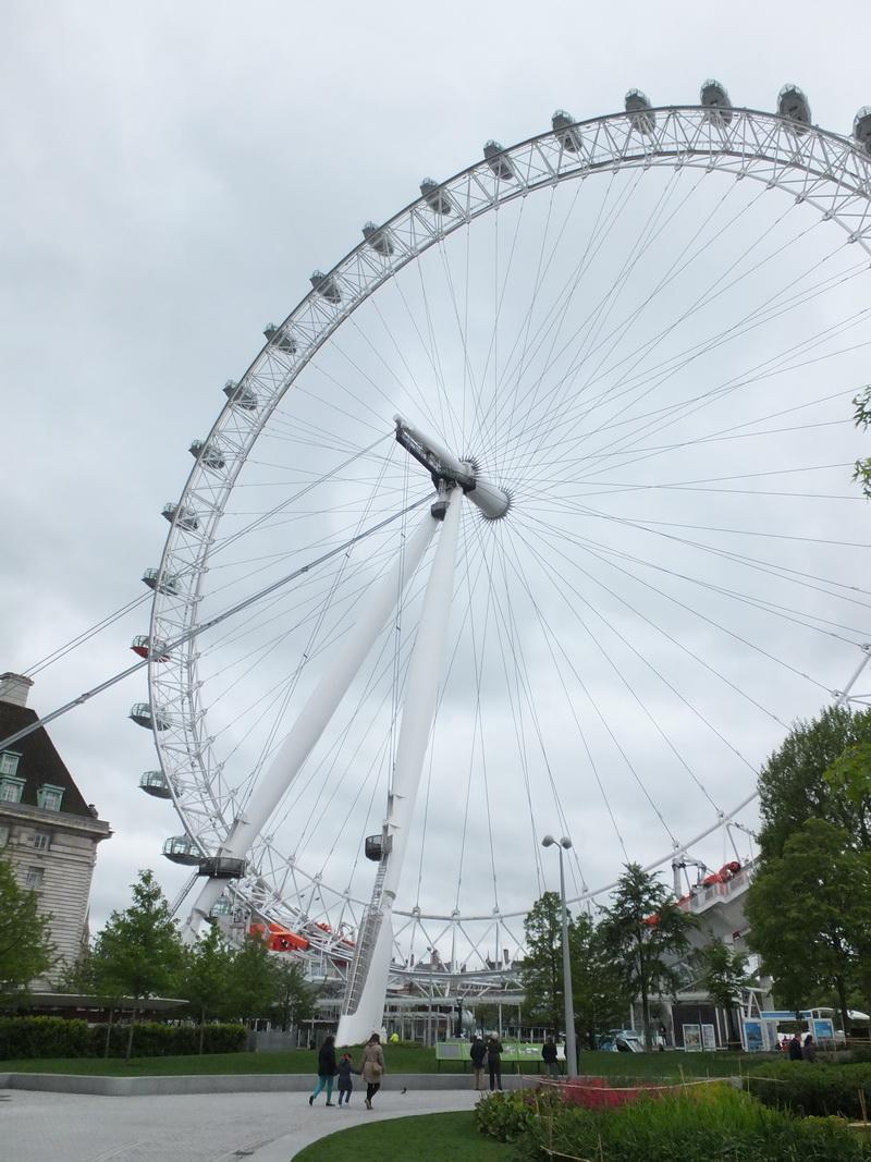 London Eye – a ride on the Ferris wheel