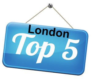 Our top 5 places in London
