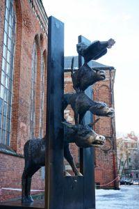 Town Musicians of Bremen in Riga