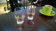 Whisky tasting at the Ardbeg distillery (Photo by Elina Mäntylä)