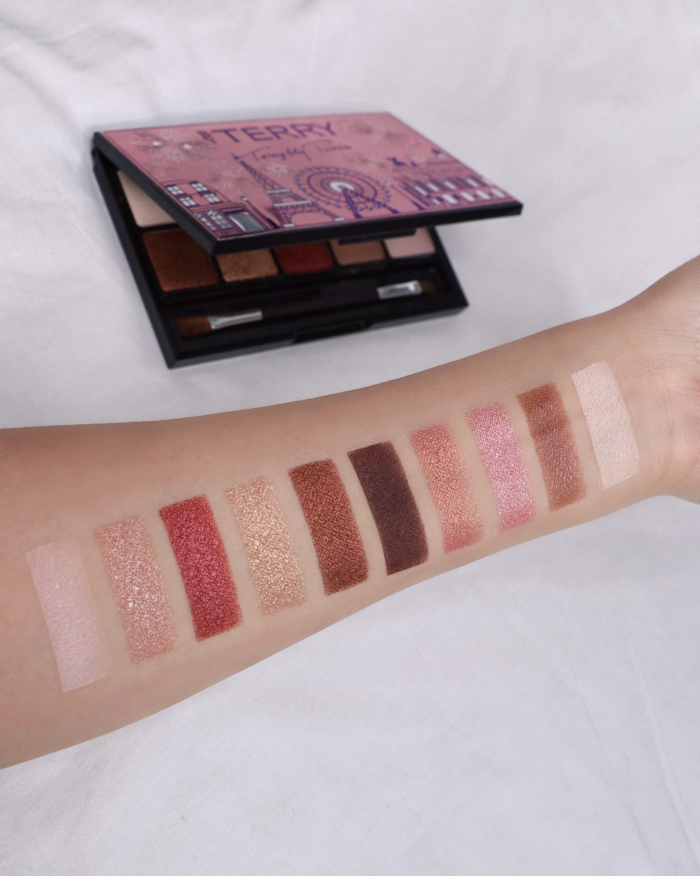 "By Terry V.I.P EXPERT PALETTE ""Paris Mon Amour"" Swatches"