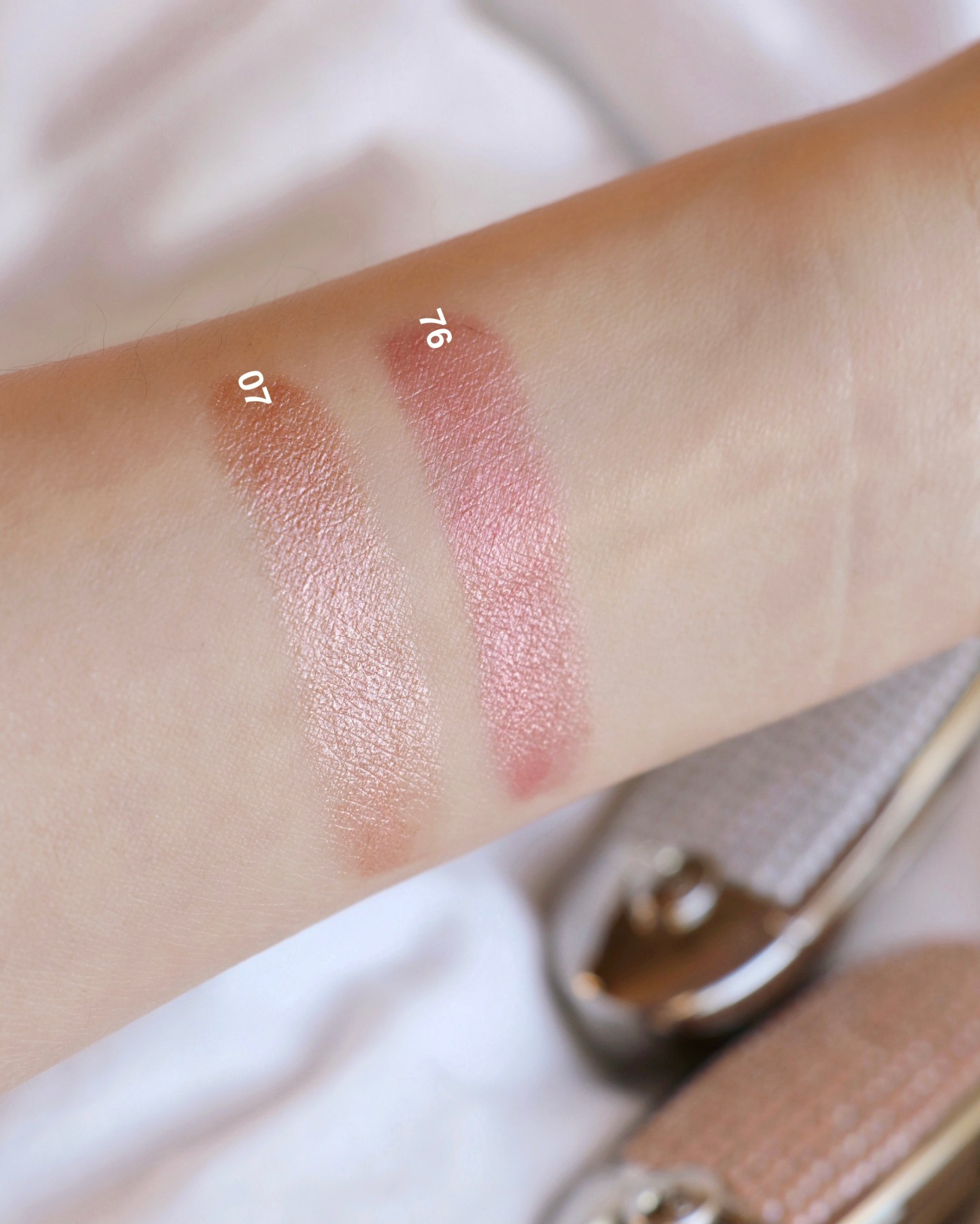Guerlain Pearl Glow Spring Collection Rouge G Lipstick Swatches