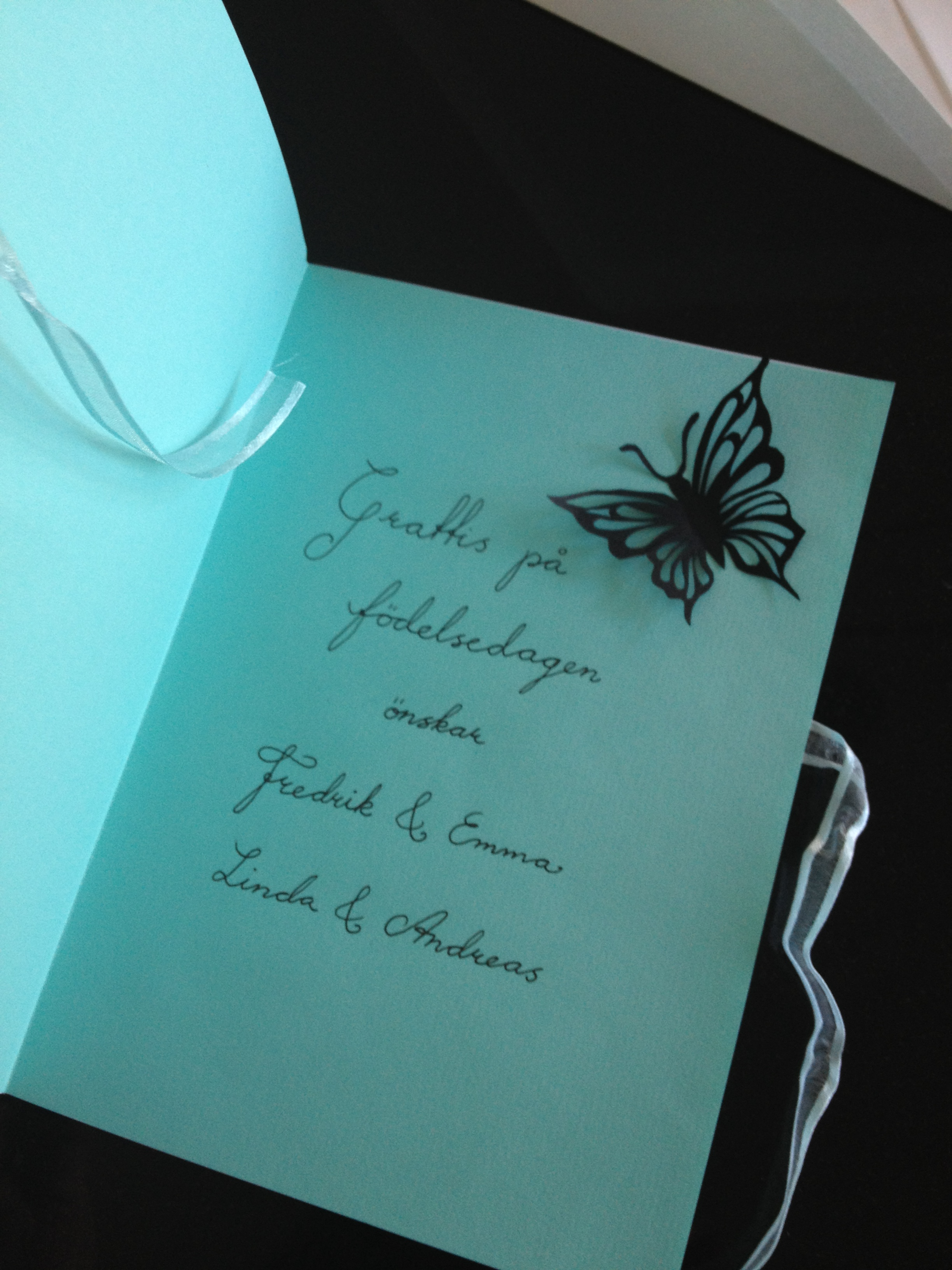 Fdelsedagskort Birthday Card
