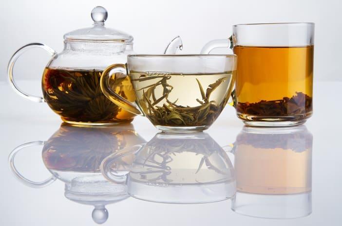 Different sorts of tea