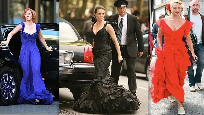 SATC-Samantha-Miranda-Charlotte-BRIDESMAID-Big-Carrie-Wedding